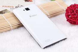 Wholesale Dual Core Air Gesture - 2015 Original iNew U1 i New U1 Mobile Smartphones MTK6572M Dual Core Android 4.4 1400MAH 4.0in 4GB ROM Cell Phones Christmas Gift DHL Free