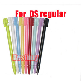 Wholesale Stylus Pens For Nintendo Ds - Wholesale-50x colors TOUCH STYLUS PEN FOR NINTENDO NDS DS fat Wholesale Free Shipping