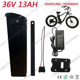Wholesale Li Ion Bms - Free Taxes 500W 36V 13AH Electric Bicycle Li-ion Battery use SAMSUNG 2600MAH cell 36V 13AH Ebike battery 30A BMS 2A Charger