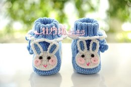 Wholesale Shose Kids - Free shipping cotton crochet winter kids shoes for baby girl baby bare foot sandals baby shose first walker baby moccasins shoes