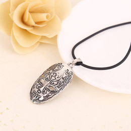 Wholesale Death Eater - 2016 Harry Character Death Eater Mask Brand Pendant Necklace The Latest Movie Fashion Jewelry ZJ-0903314 Support Wholesale