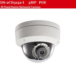 Wholesale Wired Ir Cameras - 3MP IP camera DS-2CD2135F-IS with POE camera 30m Ir distance ip66 Support Hikvision NVR 8ch,security camera,cctv
