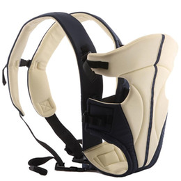 Wholesale comfort baby carrier - Wholesale Classical Durable New Born Front Baby Carrier Comfort Baby Slings Fashion Mummy Child Sling Wrap Bag Infant Carrier