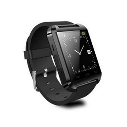 Wholesale I Watches - U8 bluetooth smart watch WristWatch for i Phone Note 2 Note 3 Android Phone Smartphones