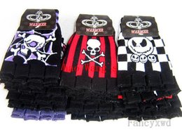 Wholesale Nightmare Before Christmas Gloves - Wholesale-New Sale 10 Pairs Cool Popular Skull Skeleton The Nightmare Before Christmas Jack Fingerless Warmer Gloves Glove