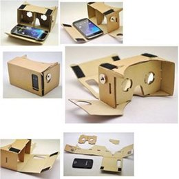 Wholesale Video Glasses For Sale - New ULTRA CLEAR Google Cardboard Quality 3D Virtual Reality Glasses Video Glass For Sale