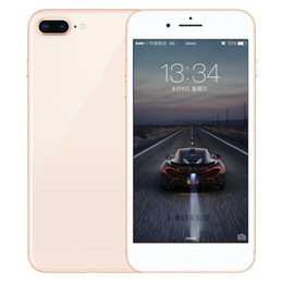 Wholesale Single Sim Inch - ERQIYU goophone i8 plus i8 i7 plus octa core phone 5.5 inch MTK6592 shown 4G LTE 64GB ROM unlocked Smart cell phone