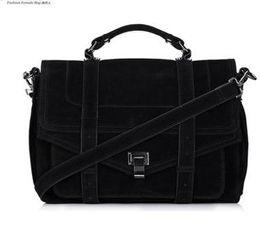 Wholesale Celebrity Brand Handbags - Celebrity Jessica Alba Brand Women Fashion shoulder bags handbags PS1 Suede Quality Crossbody Satchel Messenger Bag