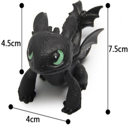 Wholesale Display Birthday Toys - Wholesale-Perfect 8pcs set How To Train Your Dragon Puppets Toothless Display Toy Night Fury Doll Hobbies Stuffed Birthday Gift TY063