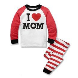 Wholesale Wholesale Sleepwear For Baby Girls - Boys Girls Clothes Cartoon Longe Sleeve 2016 Spring Summer Baby Clothes Sleepwear 2 Pieces Home Clothing Underclothes For Chrildren
