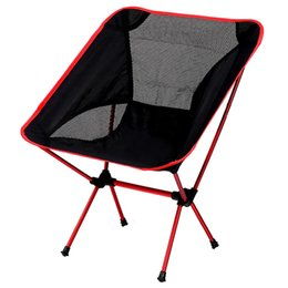Wholesale Portable ultralight folding sports chairs Outdoor picnic fishing ground chair with Carrying Bag