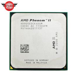 Wholesale Amd Quad Cpu - AMD Phenom II X4 905E CPU Processor Quad-CORE 2.5Ghz 6M Socket am3 am2+