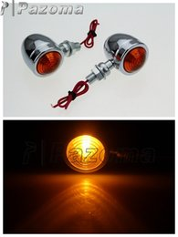 Wholesale Motorcycle Parts Spares - PAZOMA 2 PCS Motorcycle spare part Motorcycle Indicator Blinker Flasher LED Motorcycle Winker Lamp Blinker For klr650 klx450r kx450d