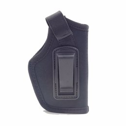 Wholesale Nylon Clips - IWB Inside the Pants Concealed Carry Clip-On Holster for Medium Compact And Subcompact Pistols