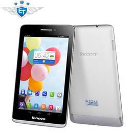 "Wholesale Mtk8389 16gb - Lenovo S5000 3G Tablet PC MTK8389 Quad Core 1.2GHz 7"" IPS 1280x800 16GB ROM 5.0MP Camera GPS WCDMA GSM Phone Call"
