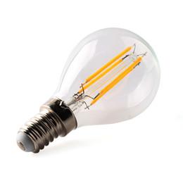 Wholesale Epistar Cob Dimmable - G45 e12 dimmable rohs bombillas bulbs 2w 4w 110v 220v filament light warm e14 e27 cob filamentos oexde g9