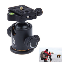 "Wholesale Quick Release Mount Plate - Beike BK-03 Camera mount holder tripod ball head With Quick Release Plate 1 4"" screw for all DSLR cameras ZM00083"