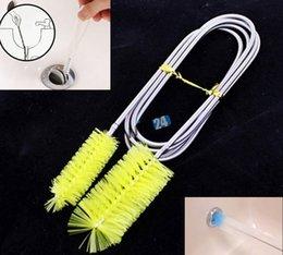canos de aquário Desconto Novo 155 CM de Metal e Plástico Tubo De Limpeza Escova Cabeça Dupla Flexível para Aquarium Filter Pump Pipe 5 pcs
