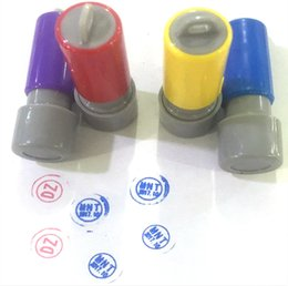 Wholesale Ink Pads For Stamps - 1pcs Stamp-pad ink Quick-drying Seal oil Financial chapter Printing ink for lcd repair lcd flex cable blue red