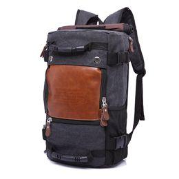 Wholesale Computer Capacity - Stylish Travel Large Capacity Backpack Male Luggage Shoulder Bag Computer Backpacking Men Functional Versatile Bags 01