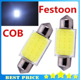 Wholesale Park Products - 2016 New Products 2pcs lot 31mm 36mm 39mm 41mm 12V COB Festoon LED Car Bulb Auto Led Interior Light Lamps parking Free Shipping