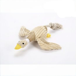 Wholesale Marketing Sale - CUBE MARKET PET SHOP Hot Sale Squeaking Duck Toy for Dogs, Duck shaped pet toy, dog toy Drop Shipping JIA604