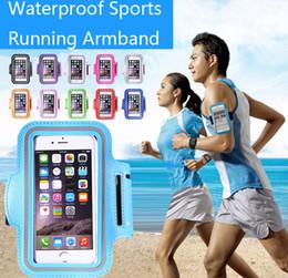 Su geçirmez Spor Koşu Vaka Armband Koşu çantası Egzersiz Armband Tutucu Pounch iphone Cep Cep Telefonu Kol Çantası Bant Iphone Için nereden