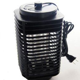 Wholesale Electric Mosquito Killer Lamp - 2015 new hot 1pcs Lamp Fly Bug Insect 220V Electric Mosquito Zapper Killer With Trap EU plug