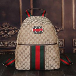 Wholesale Boys Sports Backpack - 2016 Hot Sell Classic Fashion bags women men Backpack Style Bags Duffel Bags Unisex Shoulder Handbags
