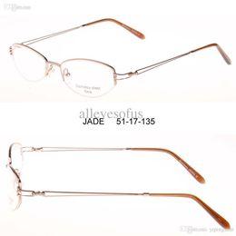 Wholesale Eyeglass Crosslink - Free shipping oculos women metal classic optical Glasses gafas Eyeglasses,Spectacle Glasses crosslink Eye glass,oculos de grau
