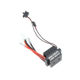 Wholesale Parts For Rc Boat - 100% New 320A 6-12V Brushed ESC Speed Controller With 2A BEC for RC Boat Part