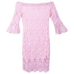 2019 mini vestido del hotsale Al por mayor-Nueva formal de encaje Prom Ball Mini vestido estampado floral Pink Dresses Hotsale mini vestido del hotsale baratos