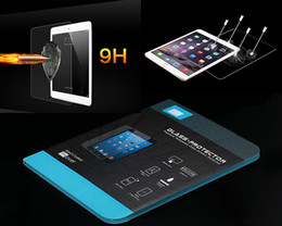 Wholesale Ipad3 Screen Protector Retail - Tempered Glass Screen Protector for ipad 2 3 4 air 2 mini Retina 4 Galaxy tab 4 A 8 9.7 S 8.4 10.5 with retail package