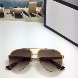 Wholesale Full Bee - Luxury 0314 Sunglasses For Men Brand Design Popular Fashion 0314S Summer Style With The Bees Top Quality UV Protection Lens Come With Case