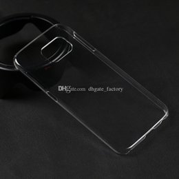 Wholesale Diy Cell Case - New Arrival samsung s6 cases S6 case Thin Transparent hard DIY Crystal Clear Case Cover For samsung galaxy S6 Cell Phone Cases