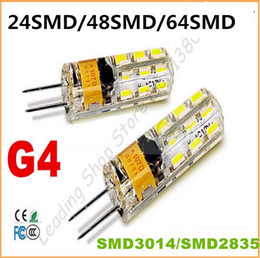Wholesale G4 Led Cree - 2015 new Car Boat High Power LED Lamp SMD2835 3014 3W 4w 5w 7w 9W DIMMABLE AC DC12V G4 G9 bulb Replace 30W-50W halogen bulb LED light lamp