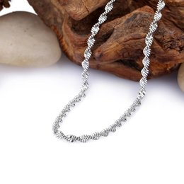Wholesale Hot China Female Model - FC The new season minimalist jewelry wholesale hot female models fine titanium steel necklace chain wave of England does not fade KL