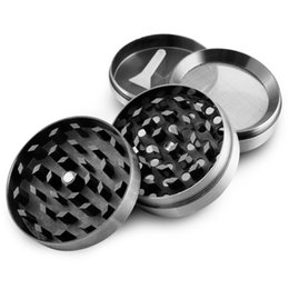 Wholesale Formax420 Metal Herb Grinder Piece Cheap Grinder Magentic Designed with Pollen Catcher and Free Scraper mm Color Grey