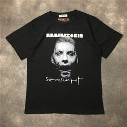 Wholesale Oversized Collar Shirt - 2018 new Best Version Oversized kanya west Vetements tee 17fw zombie Einstein German chariot thin Women Men collar cotton T-shirt S-XXL