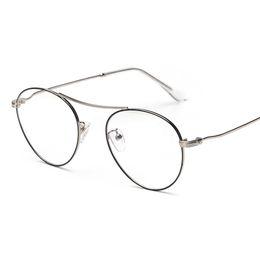 603dfeef95 2019 ovale lesebrille frauen Großhandels-mimiyou Oval Cool Pilot Brillen  Retro-Ebene Frauen Männer