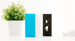 Wholesale Lithium Battery Bank - Original power bank silicone cases covers for 16000 mah xiaomi External Battery Pack charging lithium Valentine's day gifts