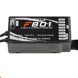 Wholesale Rc Transmitter Airplane - 2.4Ghz 8Ch 8 channel RC Transmitter & Receiver F801 (Replace AR8000) support DX6I DX7 RC Quadcopter & helicopter airplane