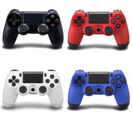 Wholesale Wireless Bluetooth Game Controller Pad - wireless bluetooth gamepad ps4 controller game controller for PS4 with touch pad Joystick Joypad with retail box