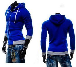 Wholesale Hooded Cardigan Sweater Sale - NEW SALE hoodies for men Sports men cardigan sweater large size long-sleeved hooded sweater men cultivating
