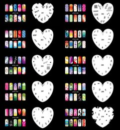 Wholesale Reuseable Airbrush Stencils - Wholesale-Tagore Set 14 Reuseable Airbrush Nail Art Stencil
