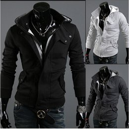Wholesale Hot Fall Jacket - Fall- Hot Fashion Brand Hoodie To Keep Warm From The New Brand Men Hooded Cotton Jacket Warm Jacket Collar Warm Hat Man WT08