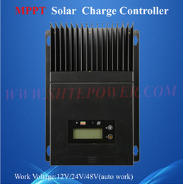 Wholesale mppt control a ce rohs solar charge controller v v v auto work voltage with lcd