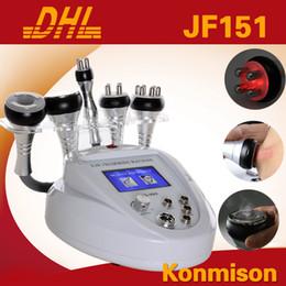 Wholesale Liposuction Machine Price - Ultrasonic Cavitation RF Slimming Machine With Vacuum Radio Frequency For Weight Loss Liposuction SkinTightening Free Shipping Lowest Price
