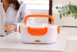 Wholesale Electric Heating Lunch - Hot Multifunctional Electronic Heated Lunch Box Electric Heating Insulation Boxes 50pcs Free shipping