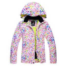 Wholesale Cheap Women Coat Suits - Wholesale-Cheap skiing suit Jackets Women Ski Snowboard Skiing Clothing windproof waterproof -30 Ski Jackets winter coat outdoor custome